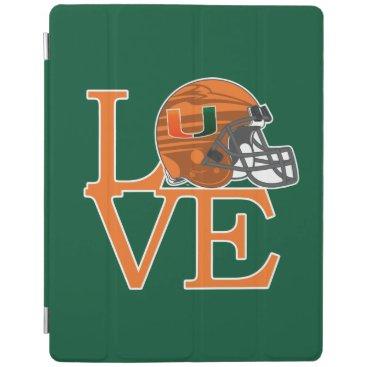 University of Miami Love iPad Smart Cover