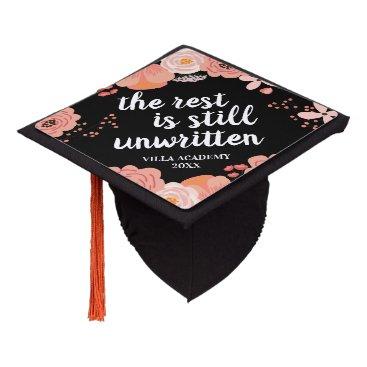 Unwritten | Custom Class Year Graduation Cap Topper