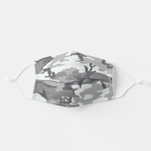 Urban Camo Pattern Adult Cloth Face Mask
