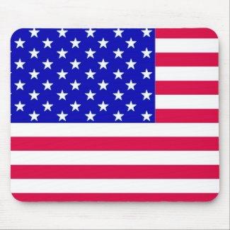 US Flag mousepad mousepad