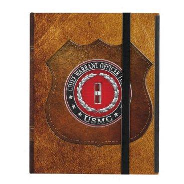 US Marines: Chief Warrant Three (USMC CWO-3) [3D] iPad Cover