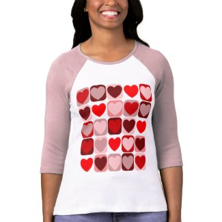 Valentine Patchwork T-Shirt shirt