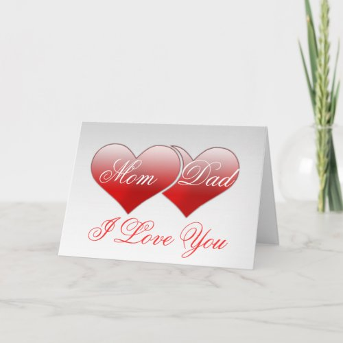 Valentine's Day Romantic Love Holiday Card