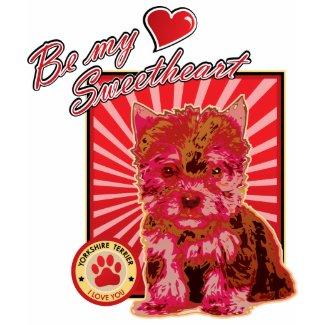 Valentine's Day Sweetheart Cute Puppy Dog shirt