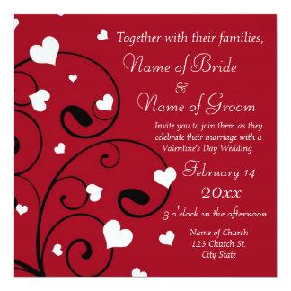 Valentine Theme Wedding Invitation