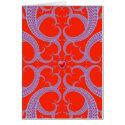 valentines fractal Card card