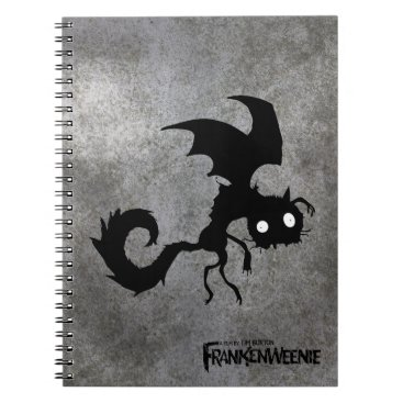 Vampire Cat Silhouette Notebook