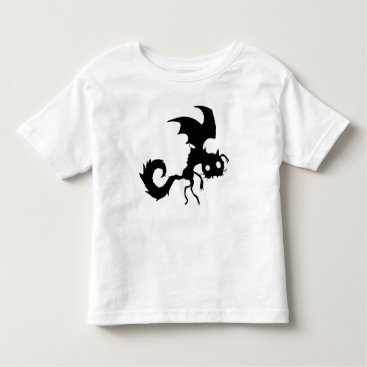 Vampire Cat Silhouette Toddler T-shirt