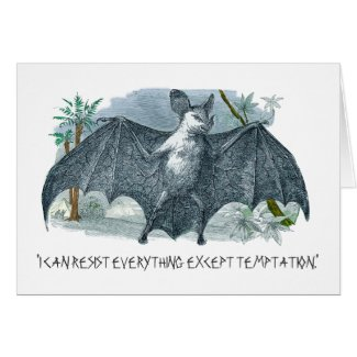 Vampire Quote Greeting Card