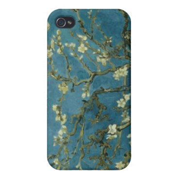 Van Gogh Almond Tree Cover For iPhone 4