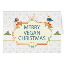 Vegan Christmas Cards