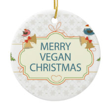 Vegan Christmas Ornaments