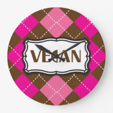Vegan Clock