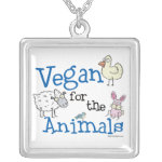 Vegan for the Animals Necklace