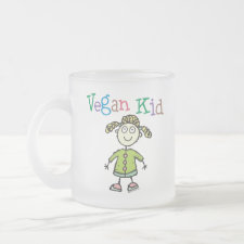 Vegan Kid Girl mug
