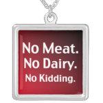 Vegan Message Jewelry