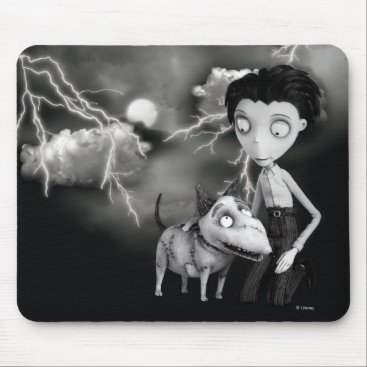 Victor and Sparky Mouse Pad