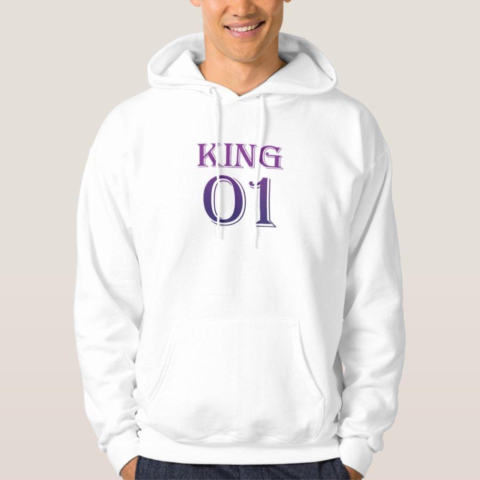 Victoria Purple King 01 Hoodie