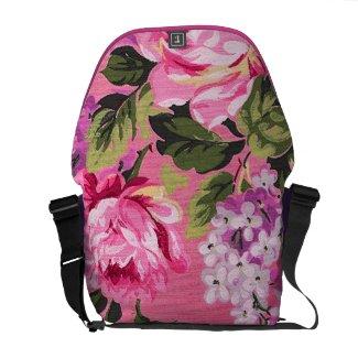 Victorian Garden Messenger Bags