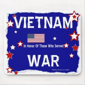 Vietnam War - In Honor - Mousepad