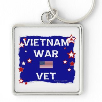 Vietnam War Vet Key Chain