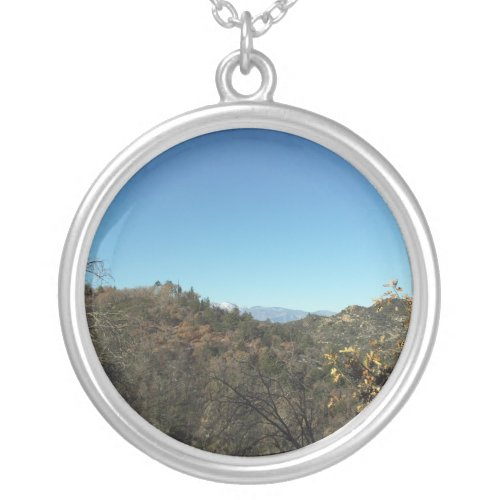 View of Mount Baldy necklace