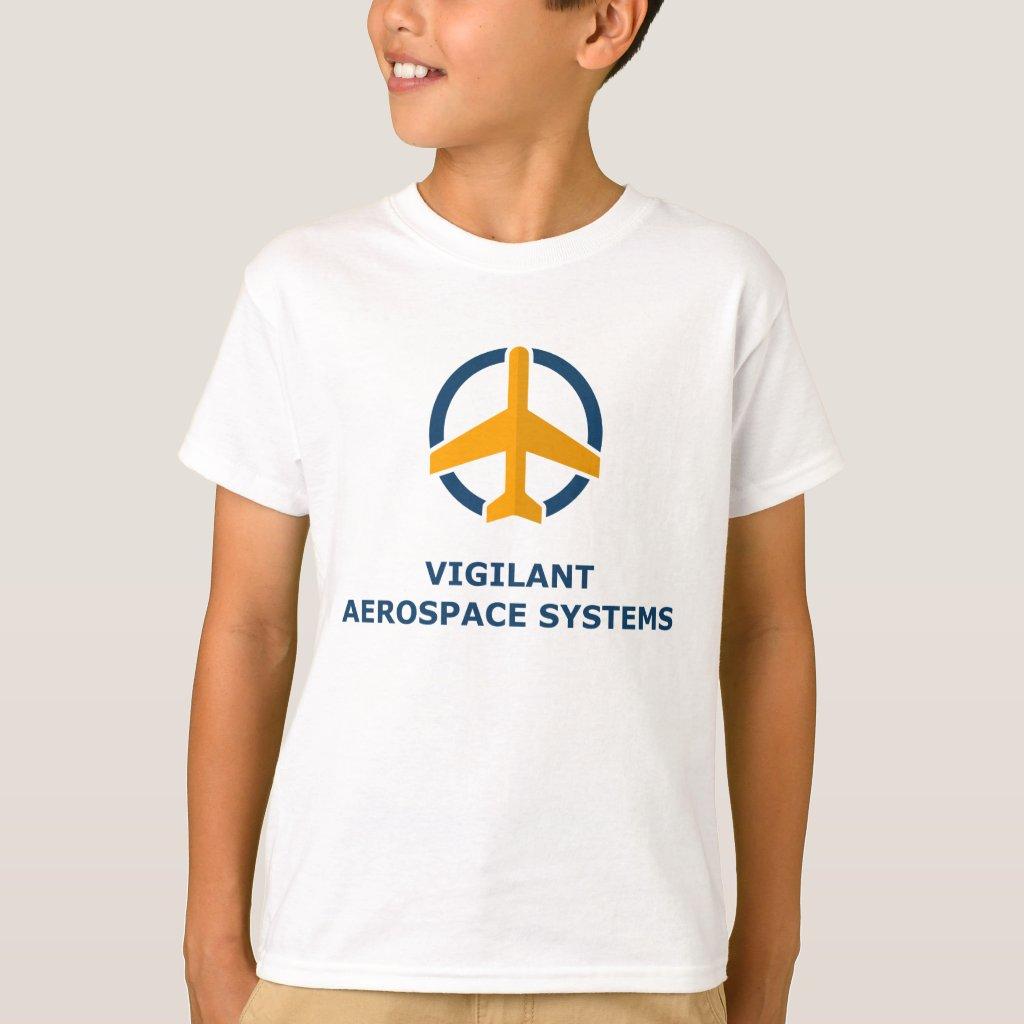 Vigilant Aerospace Kid's T-shirt