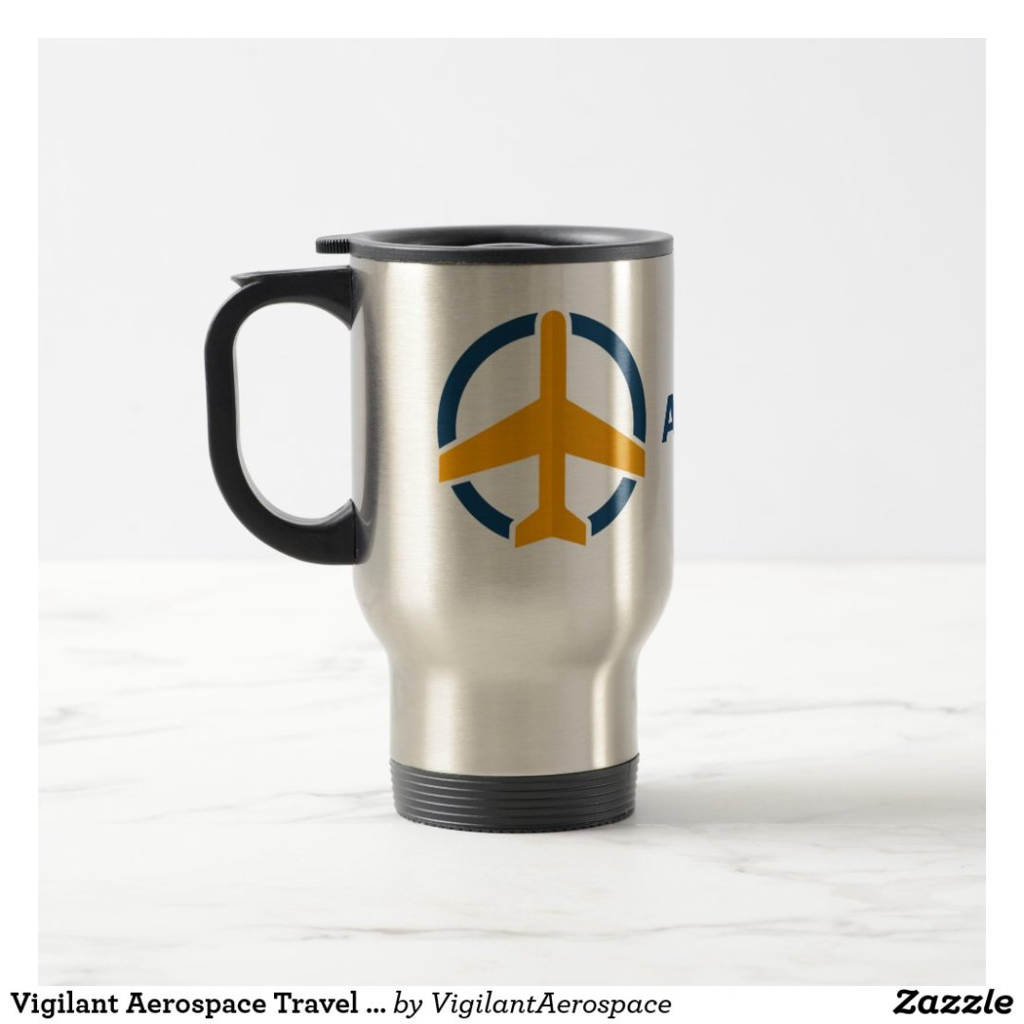 Vigilant Aerospace Travel Mug Stainless Steel