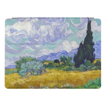 Vincent Van Gogh - Wheat Field with Cypresses iPad Pro Cover