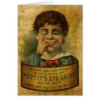 Vintage Advertisement - Eye Salve