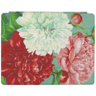 Vintage Art vintage floral Peonies Print iPad Smart Cover