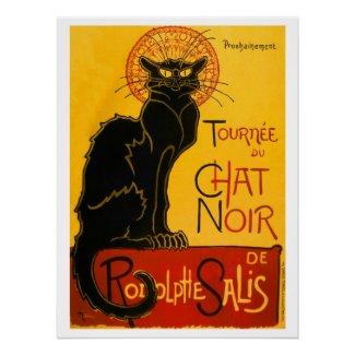 Le Chat Noir Classic Poster