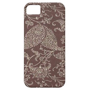 Vintage Brown Paisley Case-Mate iPhone 5