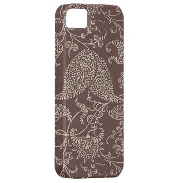Vintage Brown Paisley Case-Mate iPhone 5