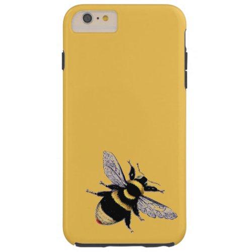 Vintage Bumble Bee Tough iPhone 6 Plus Case
