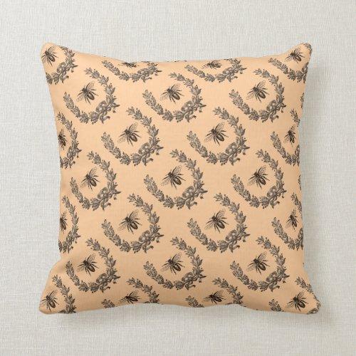 Vintage Buzz Throw Pillow