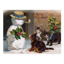 Kitten Christmas Cards A Wide Range Of Kitten Themed
