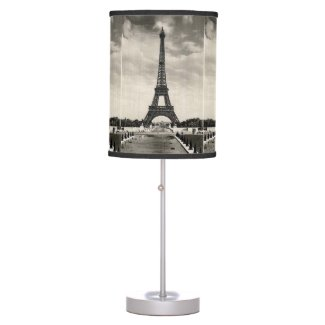 Vintage Eiffel Tower Paris Table Lamps
