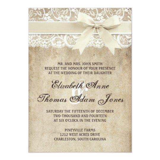 Custom Listing 20 Navy Wedding Invitation Lace Invitations Vintage Ecru And Black 4lovepolkadots New