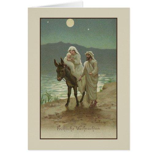 Vintage German Religious Christmas Card Zazzle