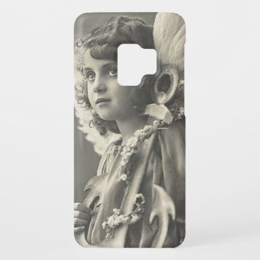 Vintage Girl Angel Symbol of Hope 1900s Anchor Case-Mate Samsung Galaxy S9 Case