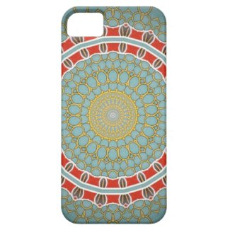 Vintage glass mandala iphone cases iPhone 5 case