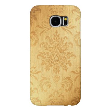 Vintage Gold Damask Samsung Galaxy S6 Case