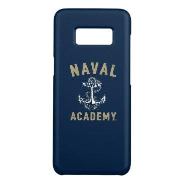 Vintage Gold Naval Academy Anchor Case-Mate Samsung Galaxy S8 Case