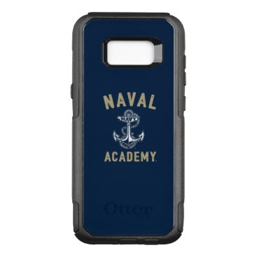 Vintage Gold Naval Academy Anchor OtterBox Commuter Samsung Galaxy S8  Case