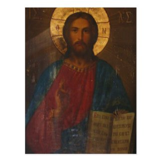 VINTAGE GREEK ORTHODOX ICON POSTCARDS