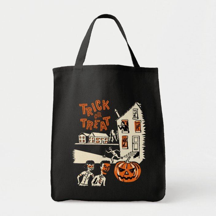 Vintage Halloween Trick Or Treat Bag Zazzle Com