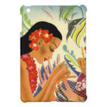 Vintage Hawaiian pin-up girl ipad mini cases