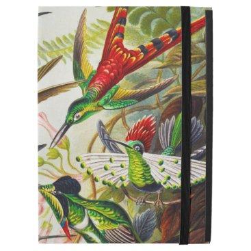 "Vintage Hummingbirds by Ernst Haeckel iPad Pro 12.9"" Case"