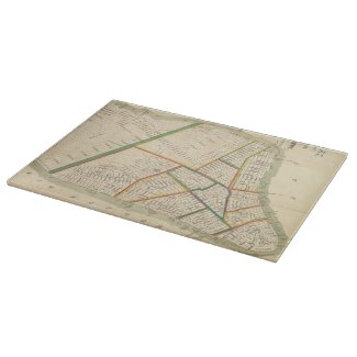 Vintage Map of New York City (1831) Cutting Board